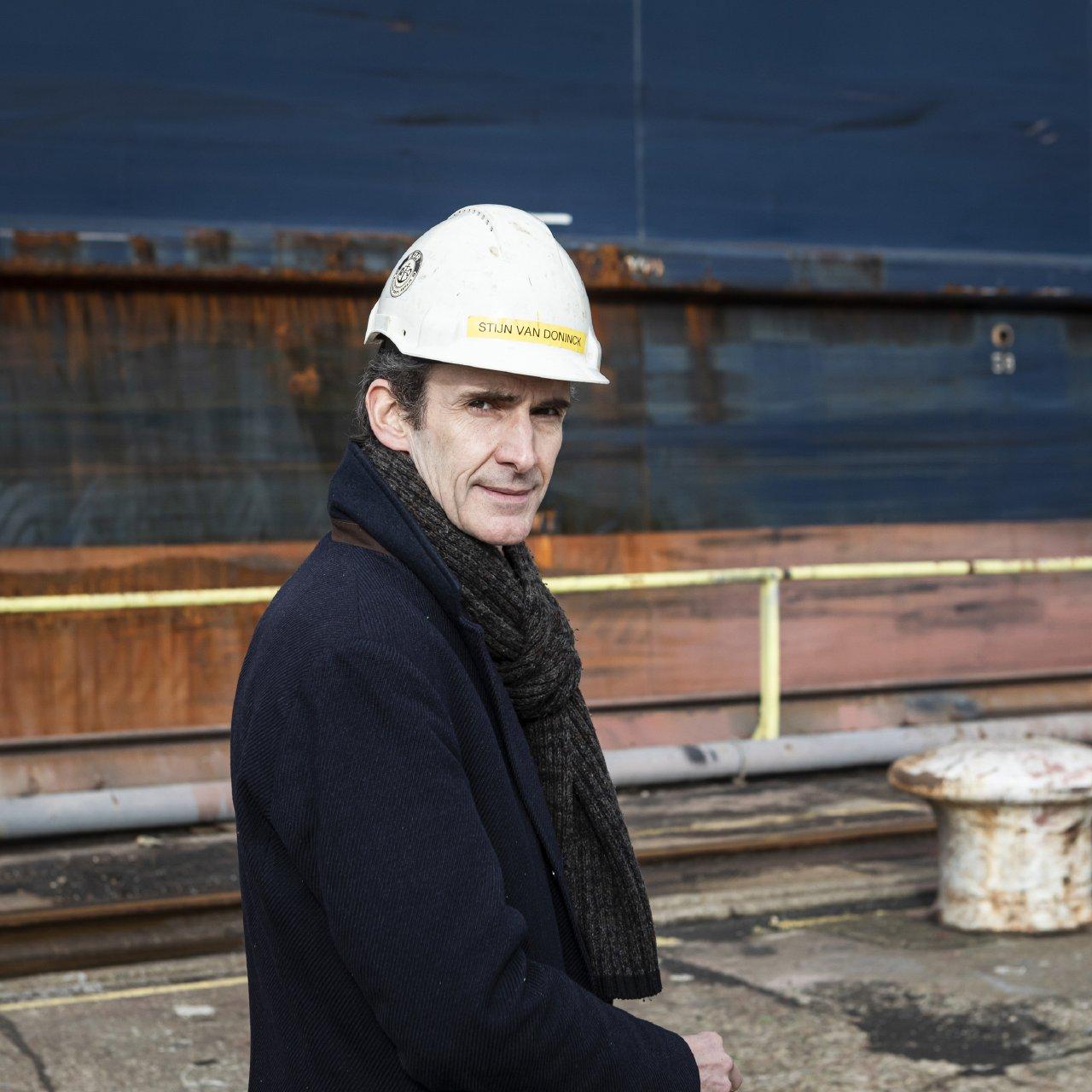 CEO EDR Antwerp Shipyard Stijn Van Doninck (c) Siska vandecasteele